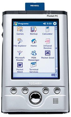 Toshiba e740 Pocket PC by Toshiba