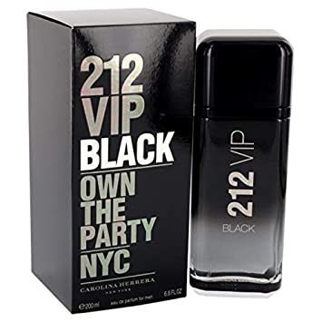 Amazoncom 212 Vip Black By çárólíñá Hérrérá For Men Eau De Parfum