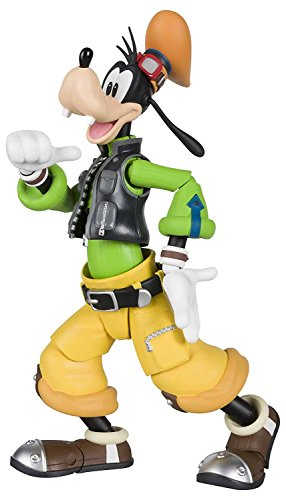 Tamashii Nations Bandai S.H.Figuarts Goofy Kingdom Hearts II Action Figure