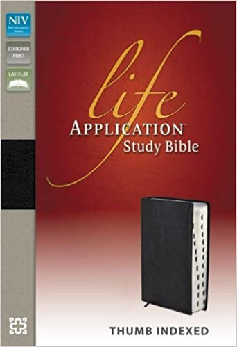 Niv life application study bible genuine leather black indexed niv life application study bible genuine leather black indexed zondervan 9780310434535 amazon books fandeluxe Image collections