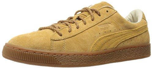 Puma Mens Basket Classic Tiger Mesh Fashion Sneaker Taffy