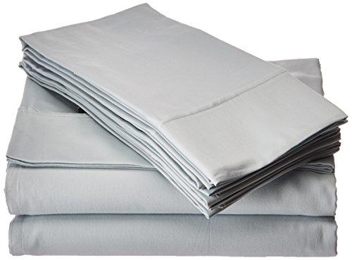(Elite Home Products T300 Legacy Solid Bonus Sheet Set, Light Blue, 6 Piece)