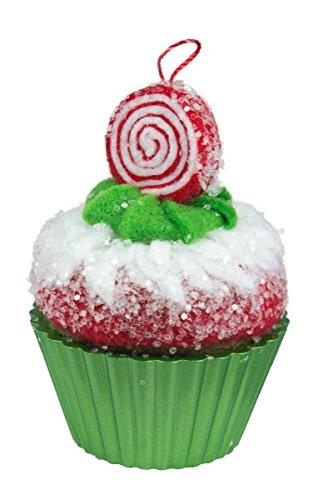 Hallmark Keepsake Ornament Peppermint Swirl Cupcakes 2016 ()