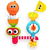 baby Bath Toy. Submarine,Animals Water Spray Station with Suction Cups. Battery Operated Water Pump for Hand Shower. Fun Bathtime Entertainment for Toddlers, Babies, and Children.