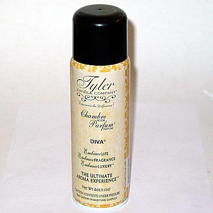 Tyler Candle 4 Oz. Chambre Parfum  Box of 6 - Diva