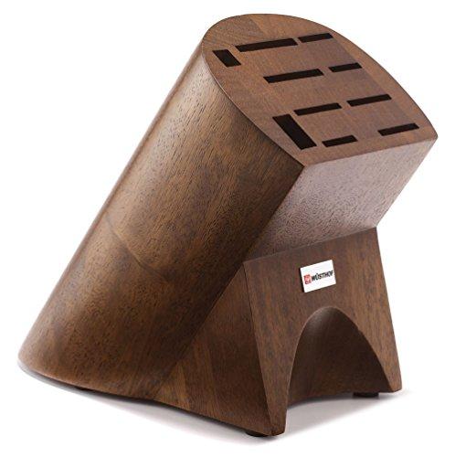 - Wusthof 7310 Burmese 10-Slot Knife Block - Oak