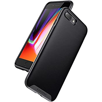 iPhone 8 Plus Case, iPhone 7 Plus Case, Anker KARAPAX Breeze Case [Support Wireless Charging] [Thin Slim Fit] [Anti Scratch] Military-Grade Certified 3D Texture Protective Case for Apple iPhone 8 Plus