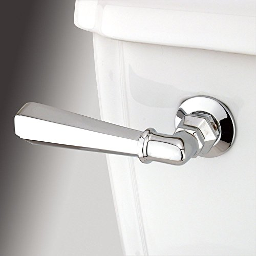 (Kingston Brass Metropolitan Toilet Tank Lever - Polished Chrome , Bathroom plumbing fixtures & sinks)