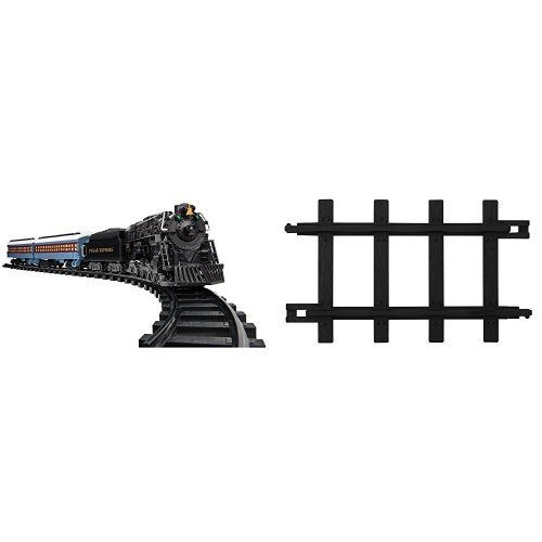 Lionel Polar Express Ready to Play Train Set and 12-Piece Straight Track Pack by Lionel