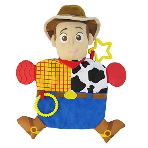 Disney Pixar Toy Story Woody Teether Activity Blanket -