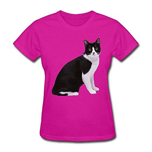 Price comparison product image ATIWING Cartoon Animal Art Short Sleeve T-Shirt Cute Cotton Tee Tops Womens