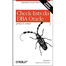 CHECK-LISTS DU DBA ORACLE PRCIS ET CONCIS