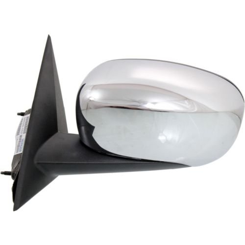 Make Auto Parts Manufacturing - DRIVER SIDE POWER DOOR MIRROR; CHROME; MANUAL FOLDING; WITH HEATED - CH1320324 (Mirr Door)