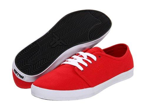 Fallen Men's Daze Red Sneaker 12 D - Medium