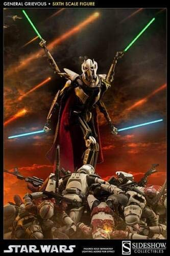 Sideshow - Star Wars - General Grievous - Standard Version 1 6 Officiel