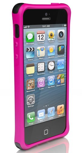 Ballistic LS0955-M695 LS Smooth Case for iPhone 5 - 1 Pack - Retail Packaging - Pink ()