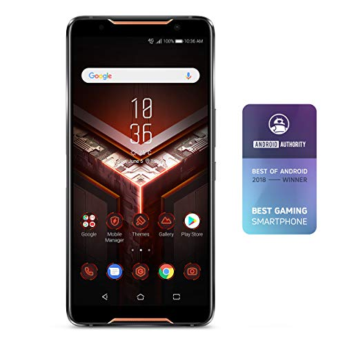 "ASUS ZS600KL-S845-8G128G ROG Gaming Smartphone 6"" FHD+ 2160x1080 90Hz Display - Qualcomm SD 845 - 8GB RAM/128GB Storage - LTE Unlocked Dual SIM (GSM Only), Black"