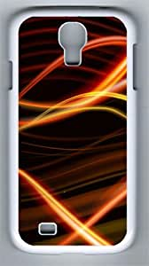 High-definition Colorful Background Custom Samsung Galaxy S4 I9500 Case Cover ¨C Polycarbonate ¨C White