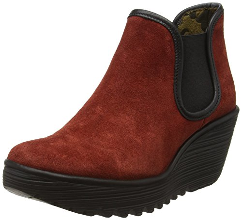 Yat black Stivaletti Donna Fly 029 London wine Viola YAnxW57W