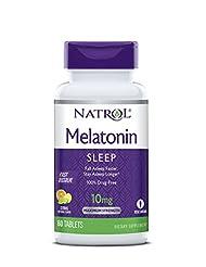 Natrol Melatonin Fast Dissolve Tablets, Citrus Punch flavor, ...