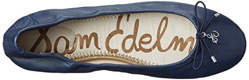 Sam Edelman Women's Felicia Navy Flat 7.5 W