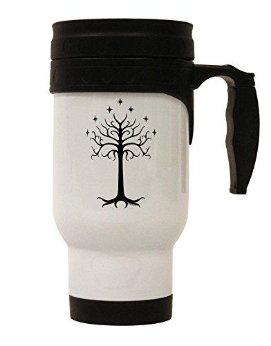 TooLoud The Royal White Tree Stainless Steel 14oz Travel Mug ()