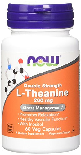 NOW L Theanine 200 Veg Capsules