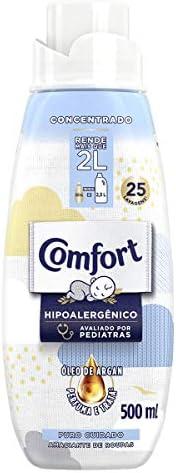Amaciante Concentrado Comfort Puro Cuidado 500Ml