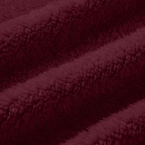 Fourrure Femelle Revers Section Longue Veste Lazzboy Couleur Unie Hiver Chaud Doudoune Vin Fausse Manteau f5wxnPwqI
