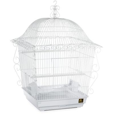 Cage Scrollwork (#220 Scrollwork Tiel Cage White 20 X 20 X 24)