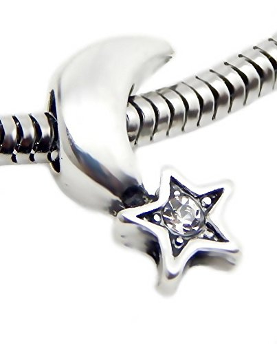 th Clear Crystals Charm Bead for Bracelets ()