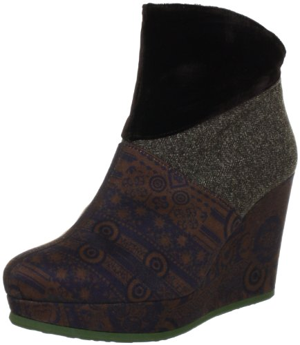 Desigual Women's Liepaja,Brown Multi,EU 37 M
