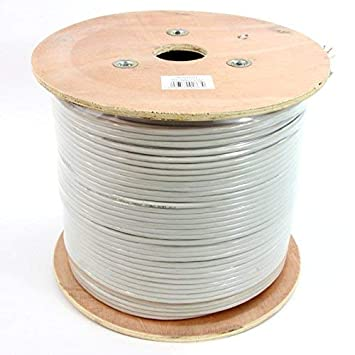 Admirable Cable Coil Cat 6 Ftp 305 Meters Color Grey Flexible Amazon Co Uk Wiring Digital Resources Zidurslowmaporg