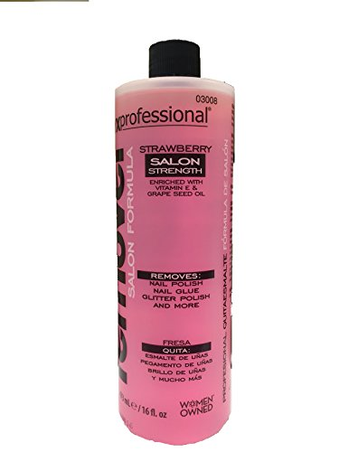 Onyx Professional Salon Strength Formula Nail Polish Remover