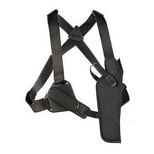 Small Uncle Mikes (Uncle Mike's Black Kodra Nylon Sidekick Vertical Shoulder Holster (Size 0,)