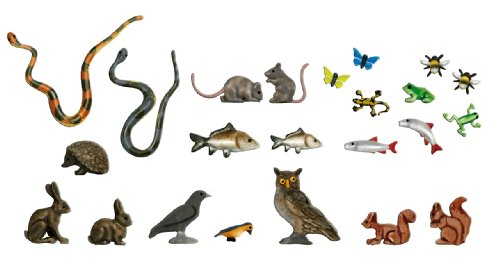 Busch 1153 Small Animal Set 8/HO Scale Scenery Kit