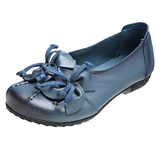 Mallimoda Womens Ballet Blue SJk78LL7