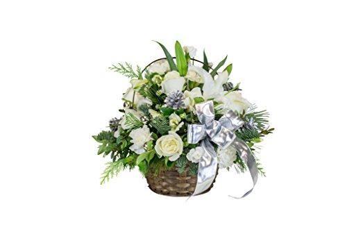 Metro Florist -Winter Wonderland Basket - Fresh and Hand Delivered- Washington DC Area