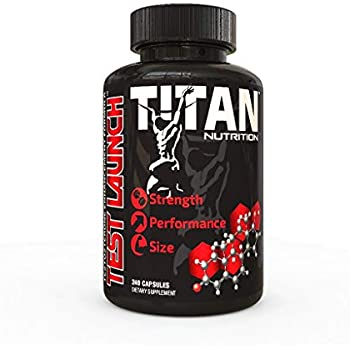TEST LAUNCH -The Premium Natural Testosterone Booster, 240 capsules