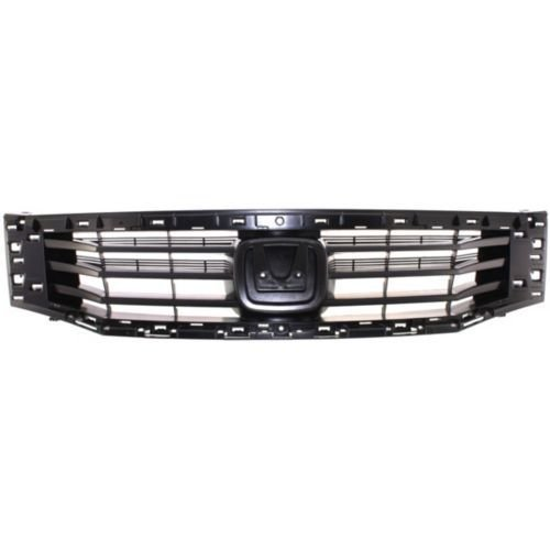 Elite7 Front Grille Replacement for Honda Accord 08-10 SEDAN Models HO1200189