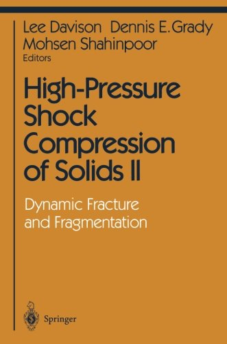 High-Pressure Shock Compression of Solids II: Dynamic Fracture and Fragmentation (Shock Wave and High Pressure Phenomena) by Brand: Springer