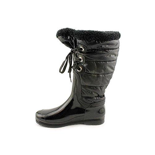 Iso Sarina Dames Zwarte Regen / Winterlaarzen Us6