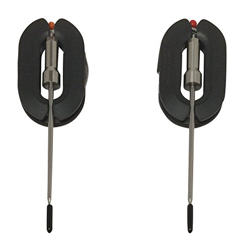 2 Stainless Steel (Best Quality, Accurate) Temperature Probes for Multi-Probe Smart Bluetooth Wireless Remote Digital Meat Thermometers: Sensor, Handle, Cable Resist up to 716°F / 380°C by Blameless Cooking