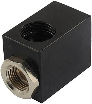 uxcell QE-04 3//8 Female Thread 2 Ports Pneumatic Air Quick Exhaust Valve