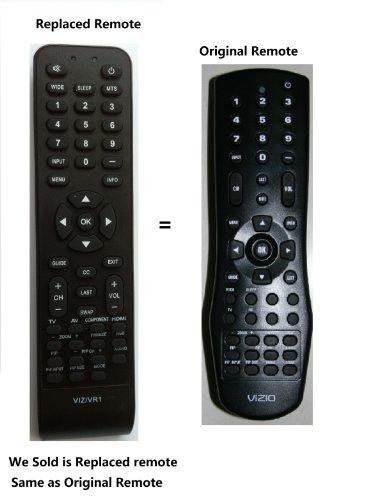 New Replaced Vr1 Lost Remote Control for Vizio V50p Vx52l Vx42l Vx37l vw42l Vw37l Vw26l Vw22l Vu42l Vs42l Va26l Va22l Va220e Va19l L42 L37 L32 Gv46l Gv42l P42 P50 (Lcd & Plasma) Vm60p Vp42 Vp50 Vp322 Vp422 Vp423 Vp503 Vp504 Vp504f Vp505xvt Gv42l Gv42lf, Gv46l Gv46lf Gv47l Gv52lf L13 L32 L37 L42 P50 (Lcd & Plasama) Va320e Va32m Veco320l Vf550m Vf550xvt Vf551xvt Vf552xvt Vl320m Vl370m Vl420m Vl470m Vmm26 Vo22l Vo22lf Vo32l Vo32lf Vo32oe Vo370m Vo37l Vo37lf Vo420e Vo42lf Vo47lf Voj320f voj370 TV