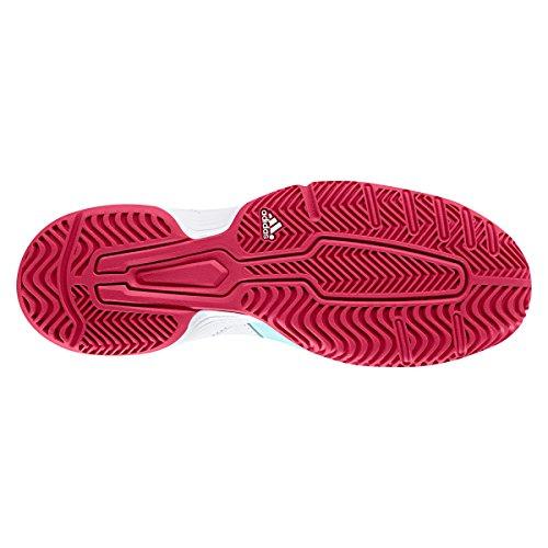 adidas Barricade Court W, Zapatillas de Tenis Para Mujer Varios colores (Aquene / Rosene / Ftwbla)
