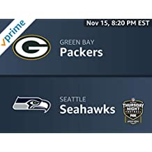 Thursday Night Football: Green Bay Packers vs. Seattle Seahawks