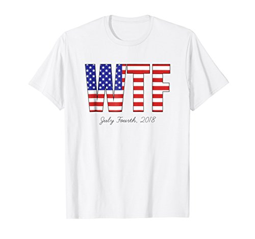 4th of July Anti Trump Political America Tee Shirt