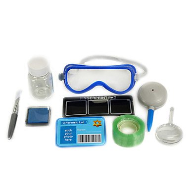 WEV 10pcs de verificación de huellas dactilares establecer juguetes de la novedad WEV Games and toys