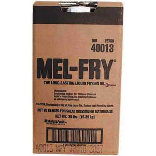 Mel-Fry Clear Liquid Shortening 35 Pound - 1 Each